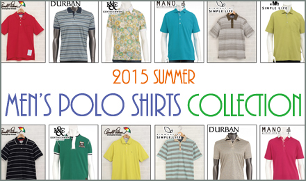 2015 Men's Polo-Shirts Collection