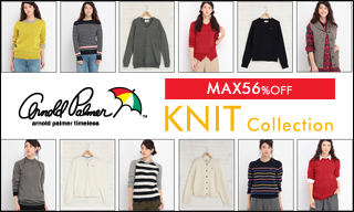 【SALE】アーノルドパーマータイムレス(レディス)KNIT Collection