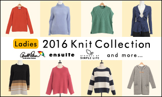 【レディス】2016 Knit Collection
