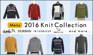 【メンズ】2016 Knit Collection