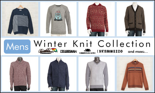 【メンズ】Winter Knit Collection