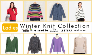 【レディス】Winter Knit Collection